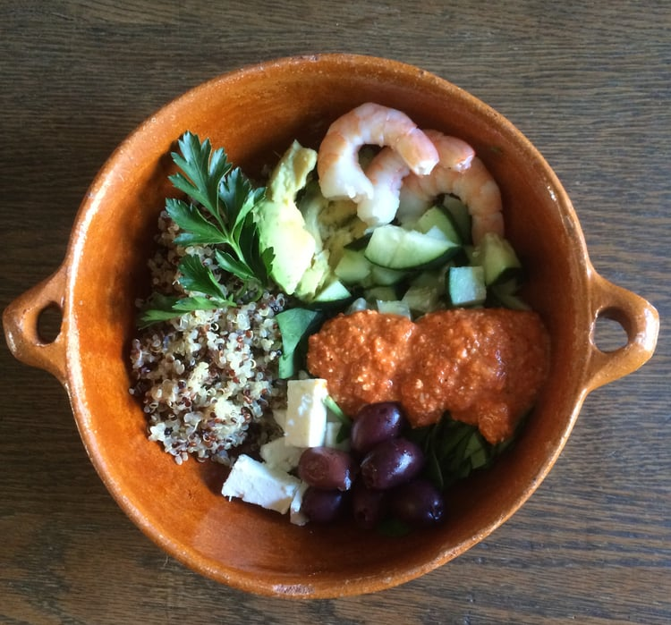 New Year Quinoa Bowl