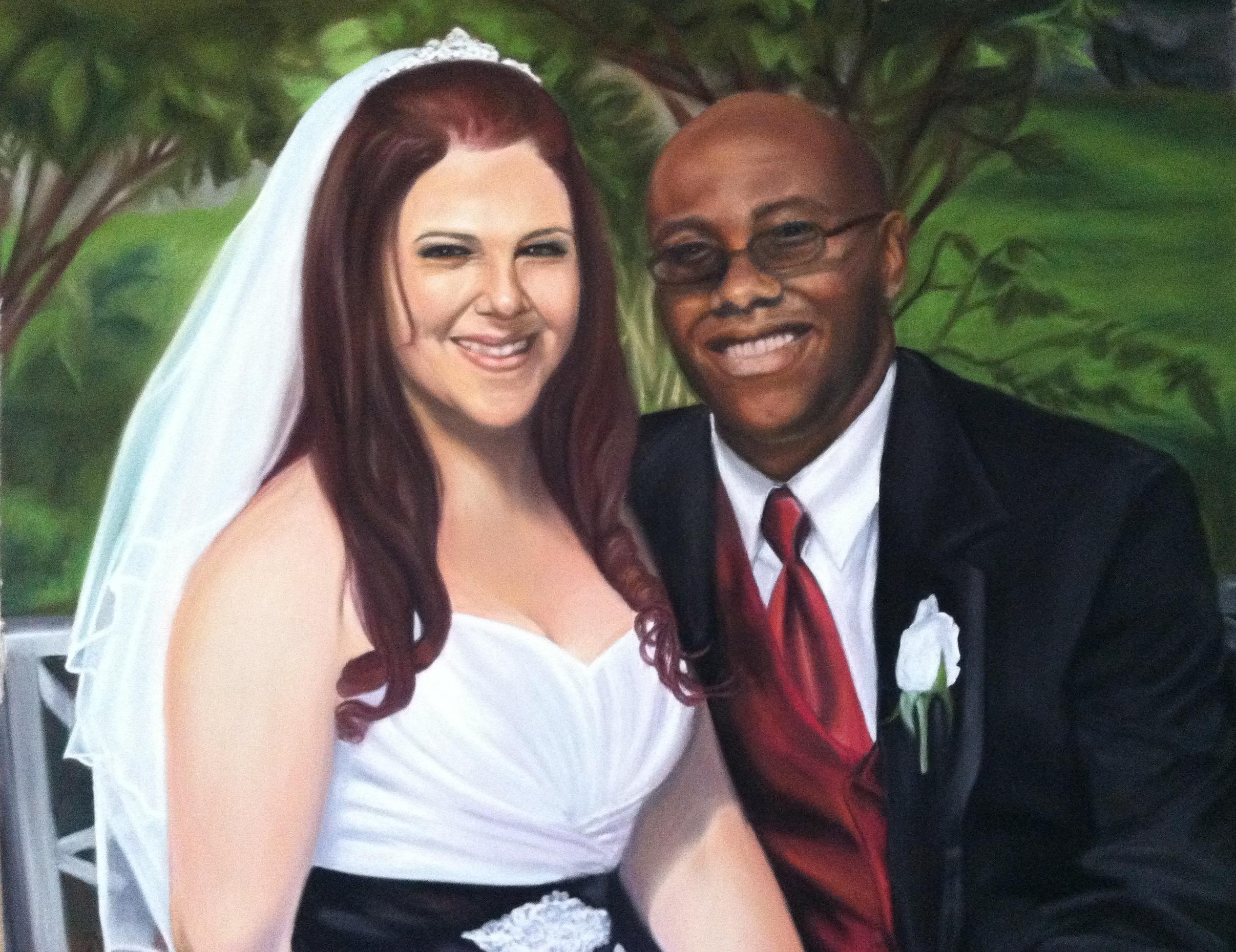 """""""Wedding Portrait Detail"""""""