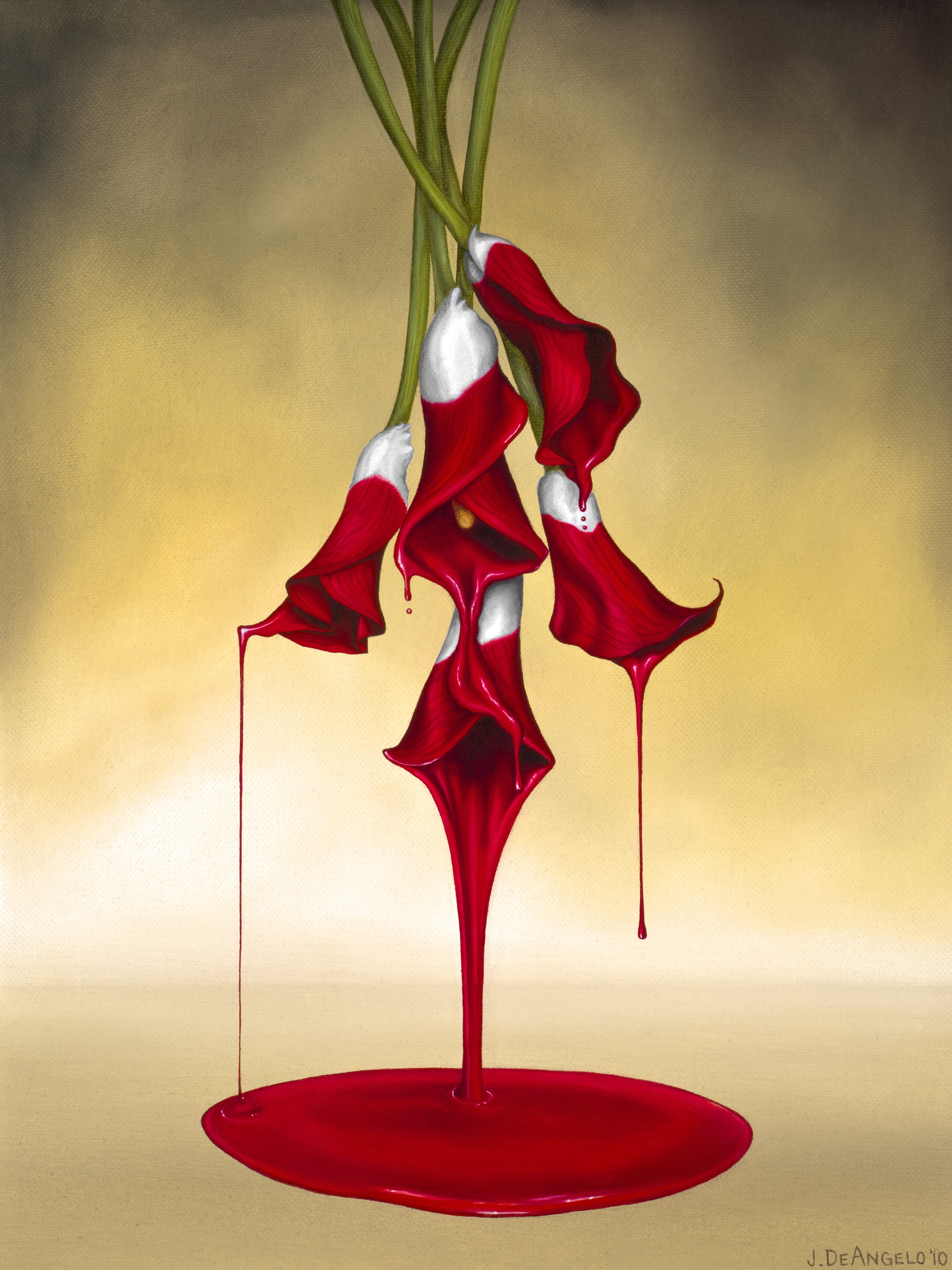"""""""Draining Calla Lilies"""""""