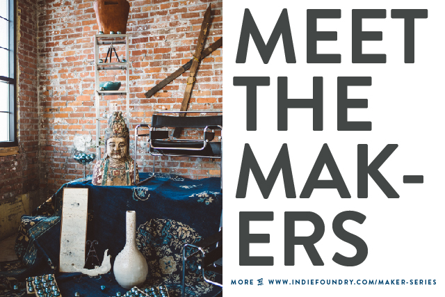 For more stories about our creative business scene, head on over to our  MAKER SERIE  S  posts.