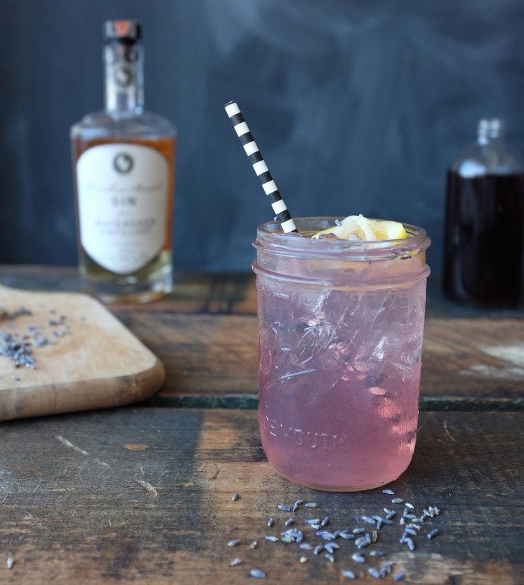 AVIATION {$7}  Ingredients: Watershed Bourbon-Barrel Gin | Lavender from Cleveland Tea Revival | Orange zest syrup