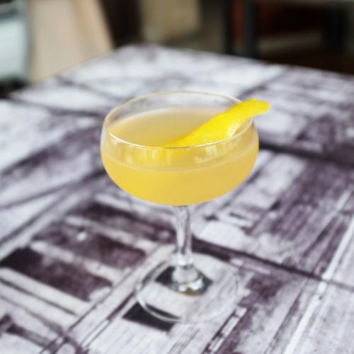 SIDECAR  Ingredients: Watershed Bourbon | Cointreau |Lemon