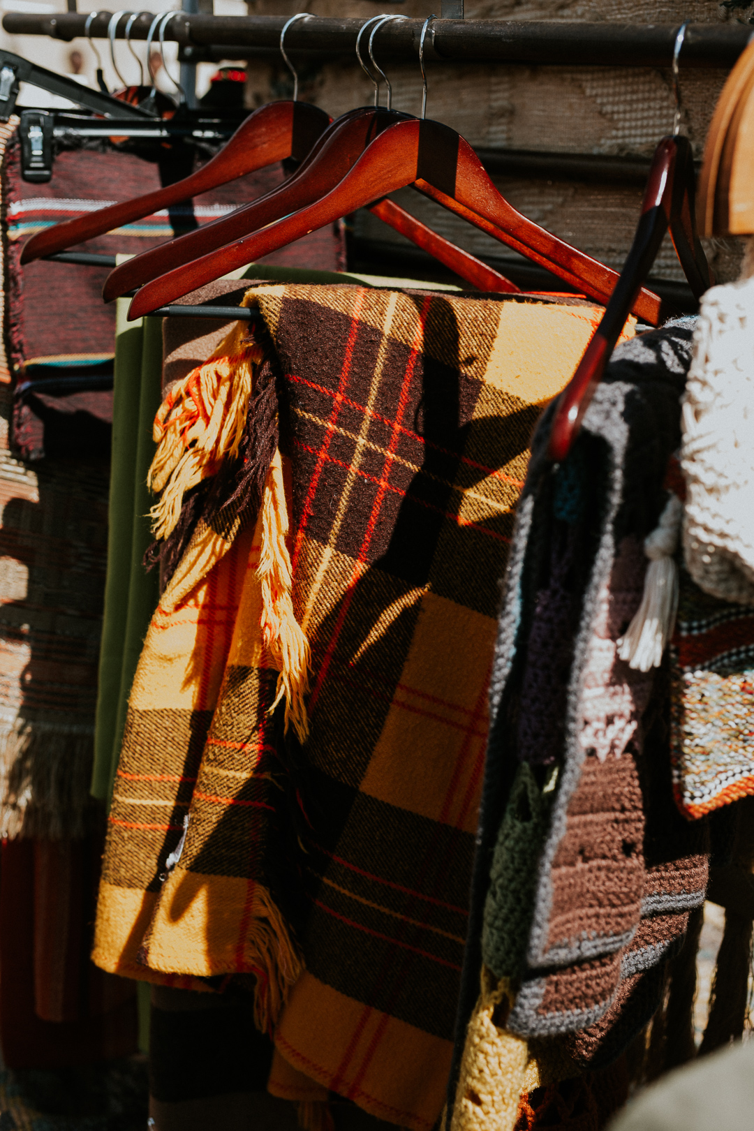 Get Cozy with these plaid blankets from Vallery Colletions