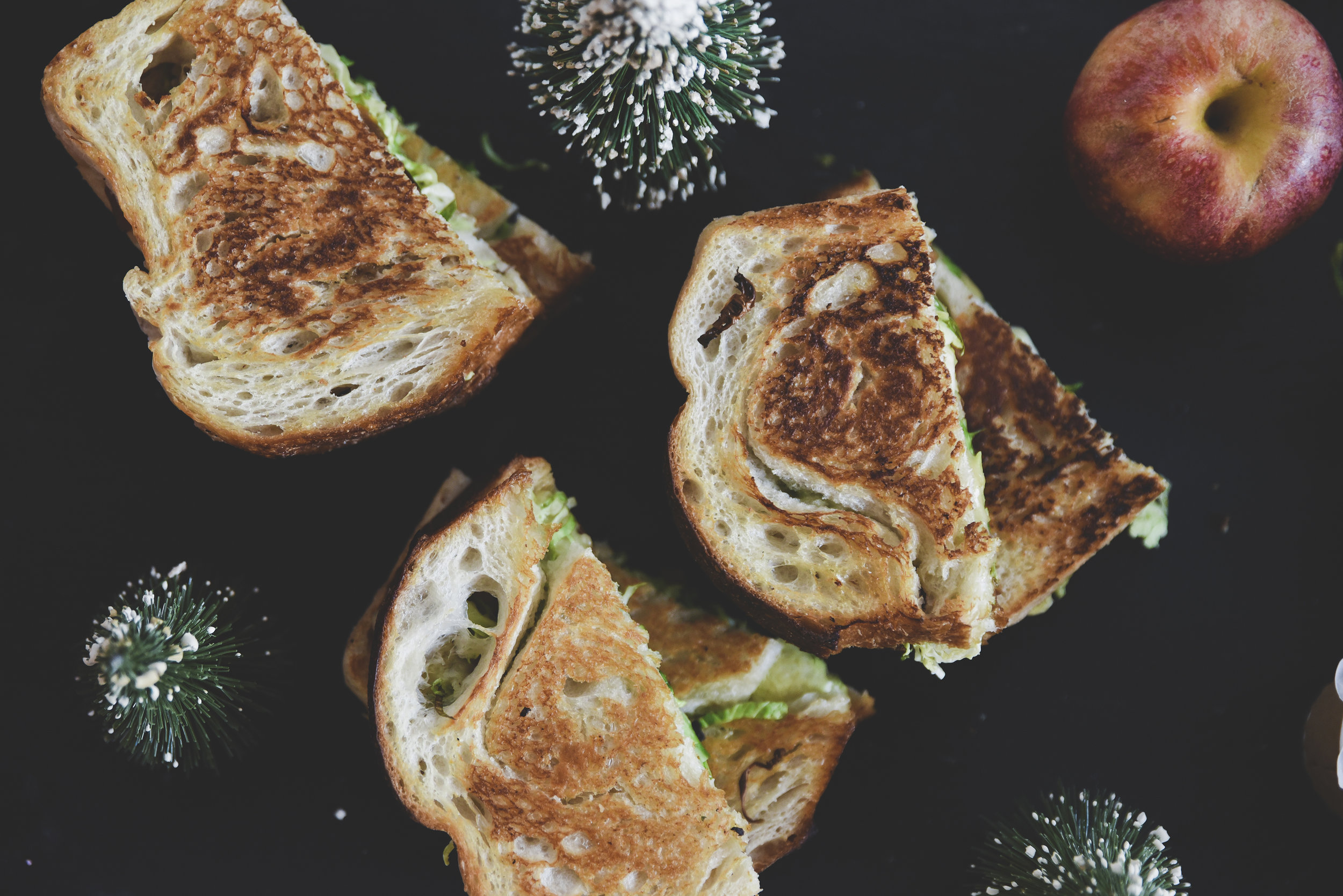 Grilled Cheese from Cleveland Field Kitchen.