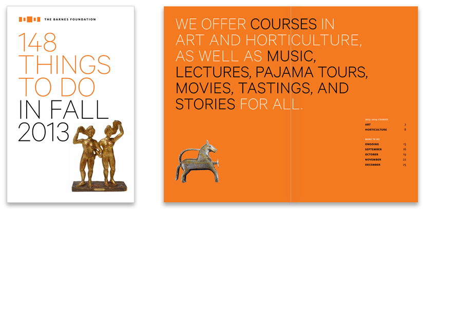 Courses and Events Brochure