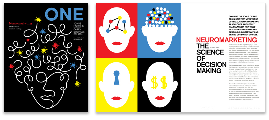 COVER AND FEATURE: NEUROMARKETING