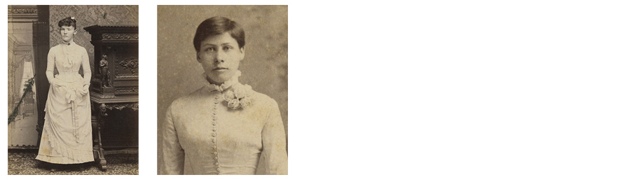 Portraits of 19th century St. Mary's alums
