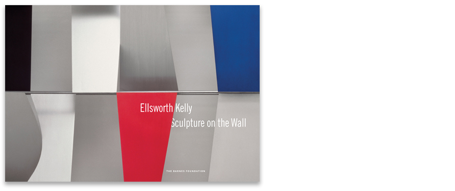 "Ellsworth Kelly: Sculpture on the Wall, 9.25"" x 13.25"""
