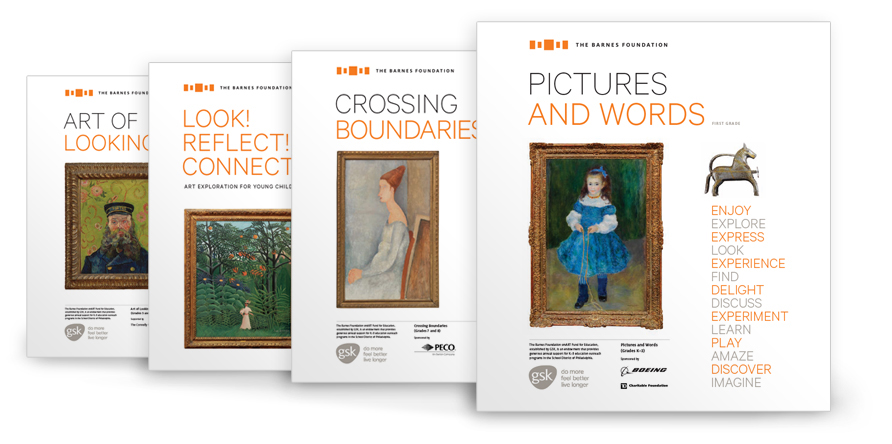 The Barnes Foundation classroom resource binders