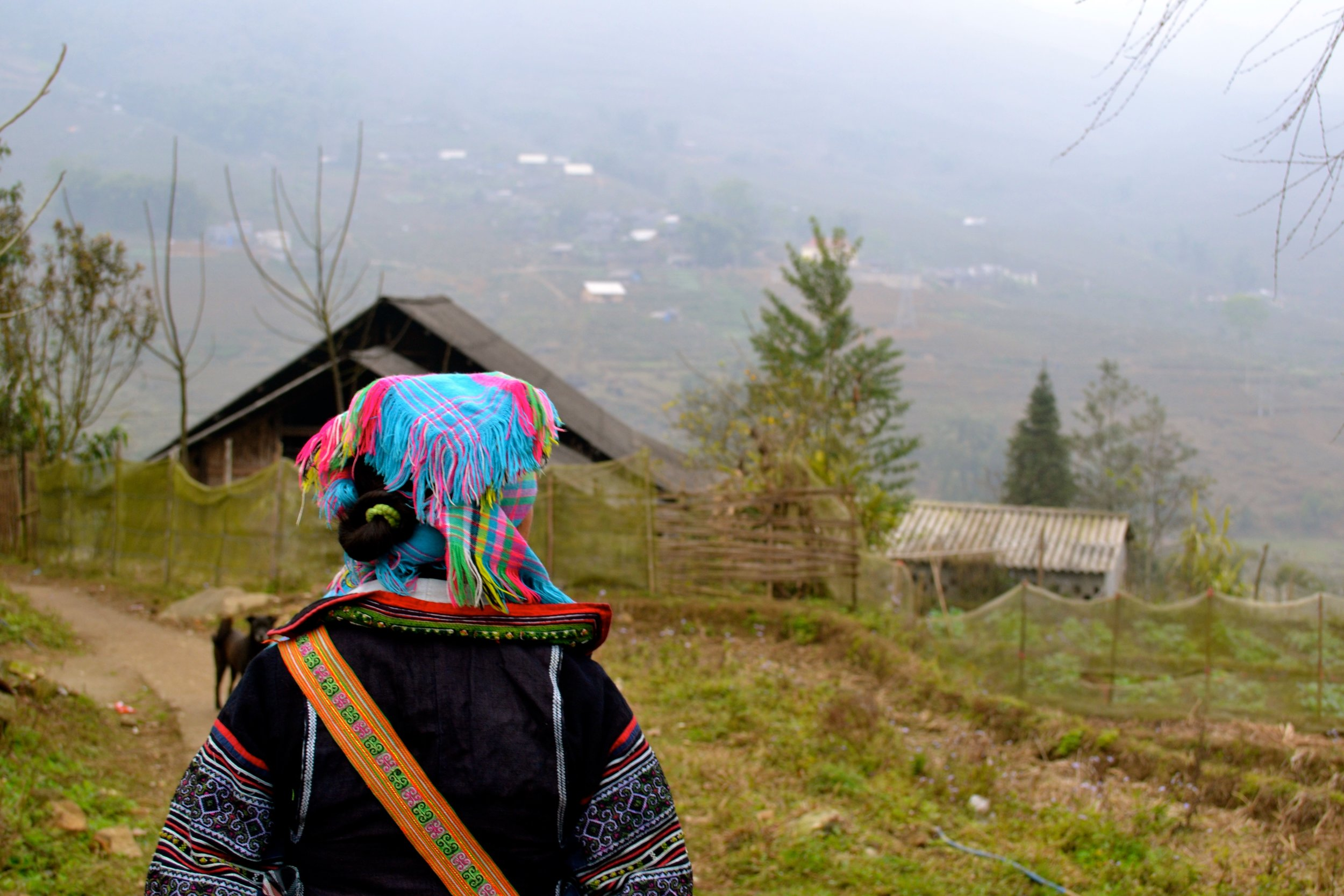 Following our homestay guide in Sapa