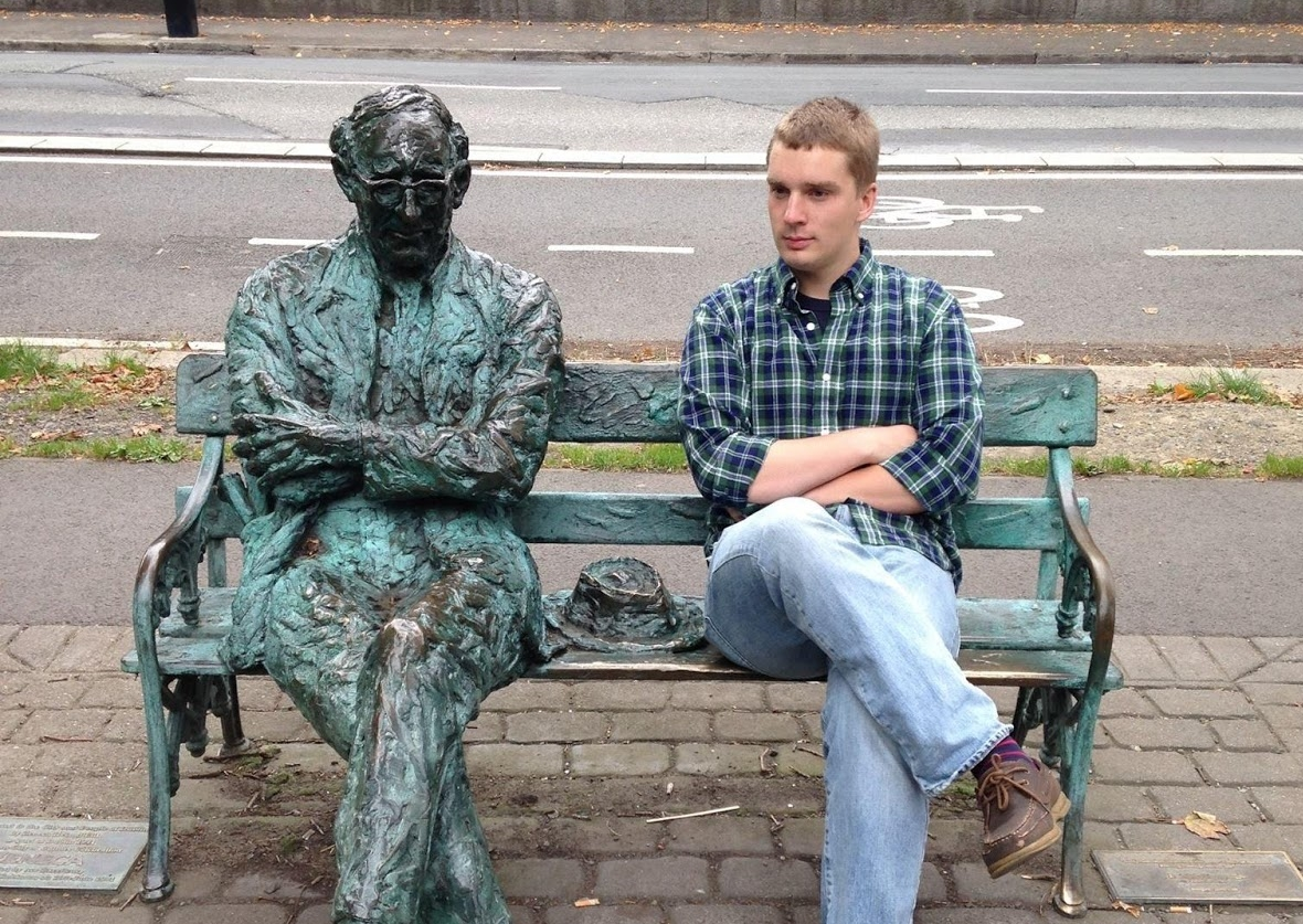 6. I studied abroad at Trinity College Dublin, and made friends with the locals