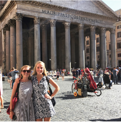 Perks of being a history major: taking this amazing summer course in ROME with my roommate!