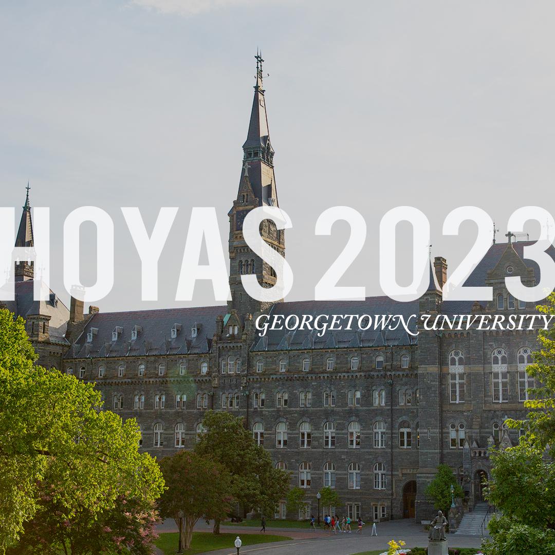 #Hoyas2023 Digital Swag