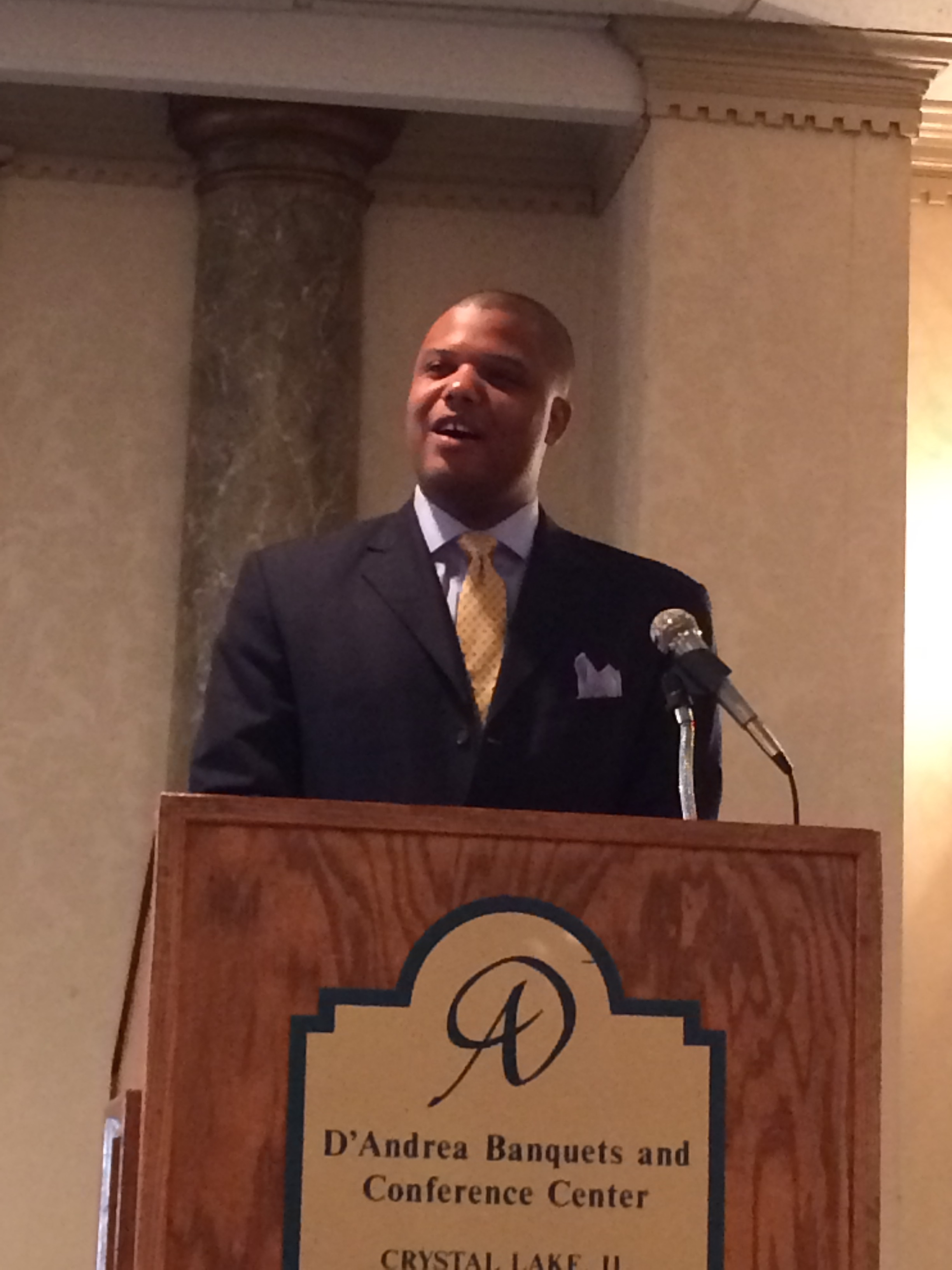Ernest Brooks III, keynote speaker in 2015