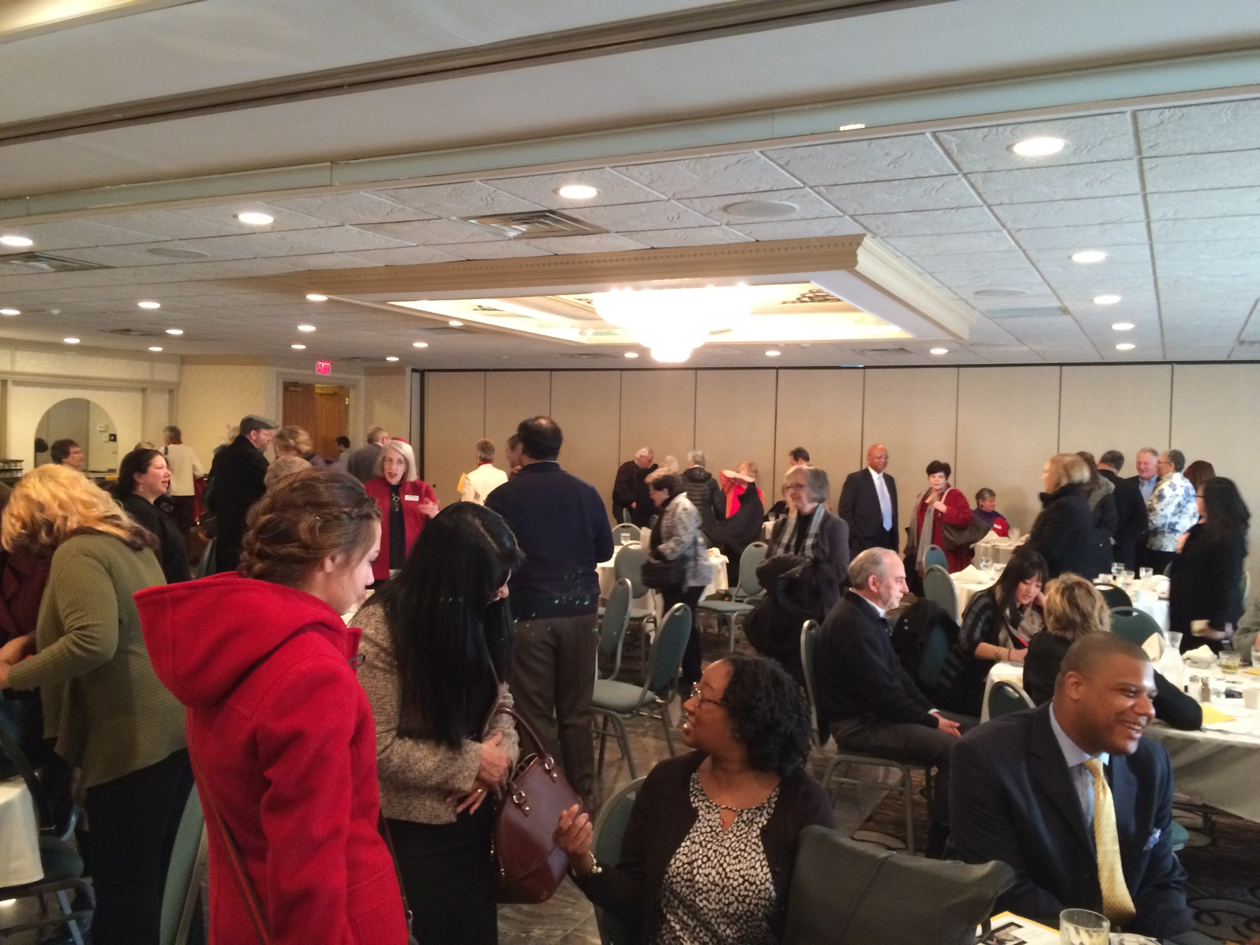 building community over breakfast and conversation, 2015