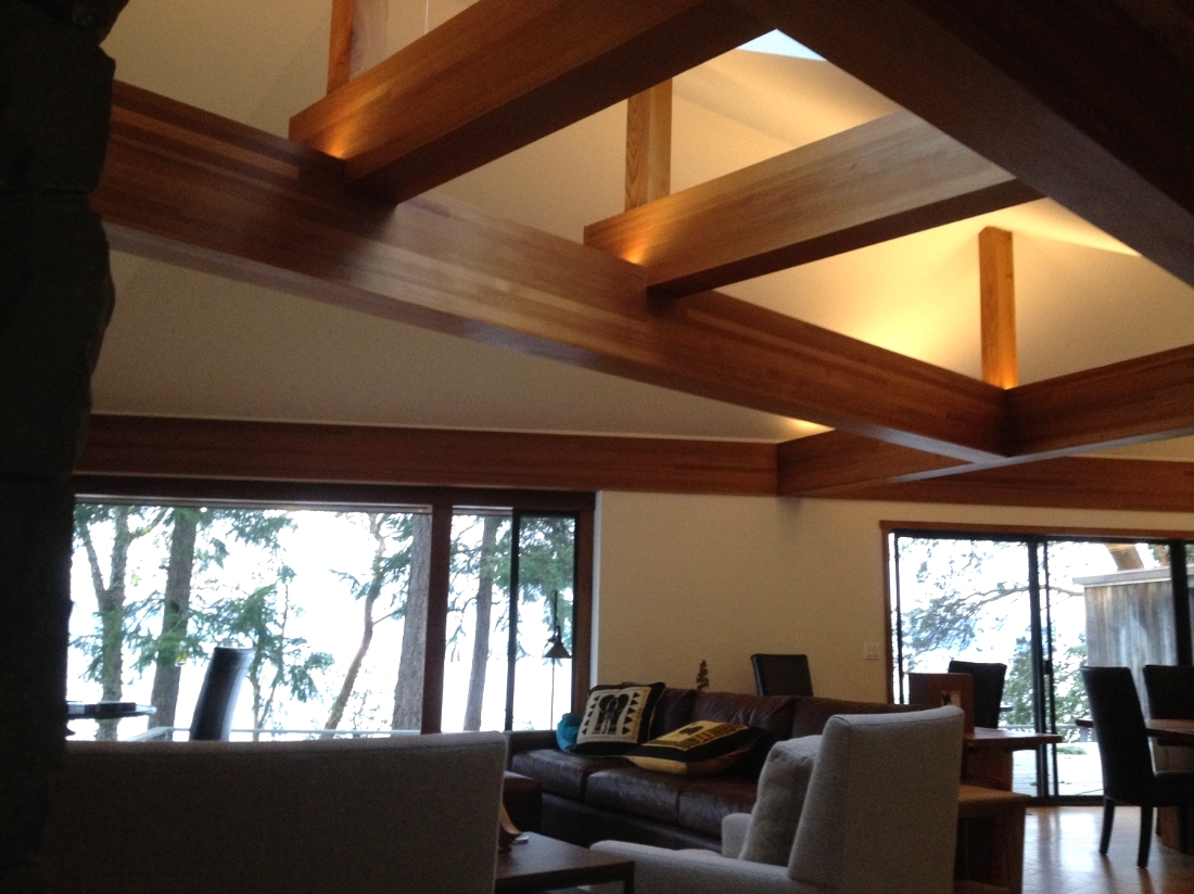 Finished Beams