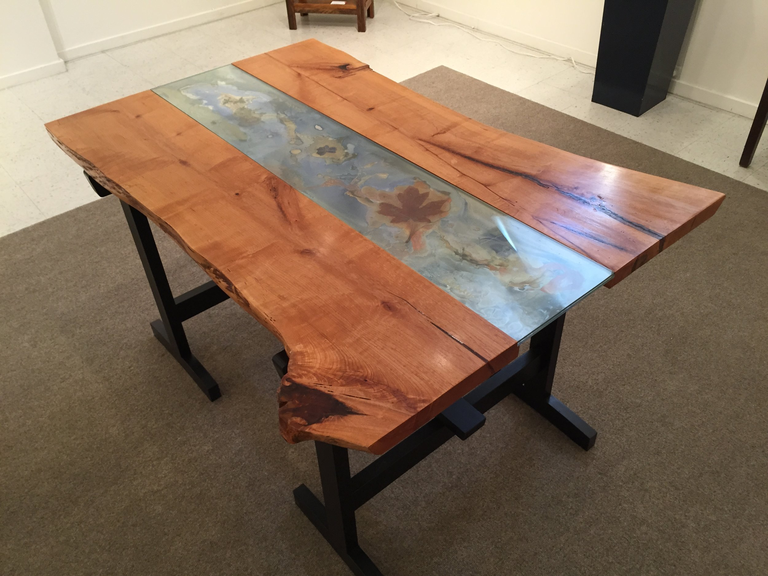 """""""Watching the River Flow"""" Table #1"""
