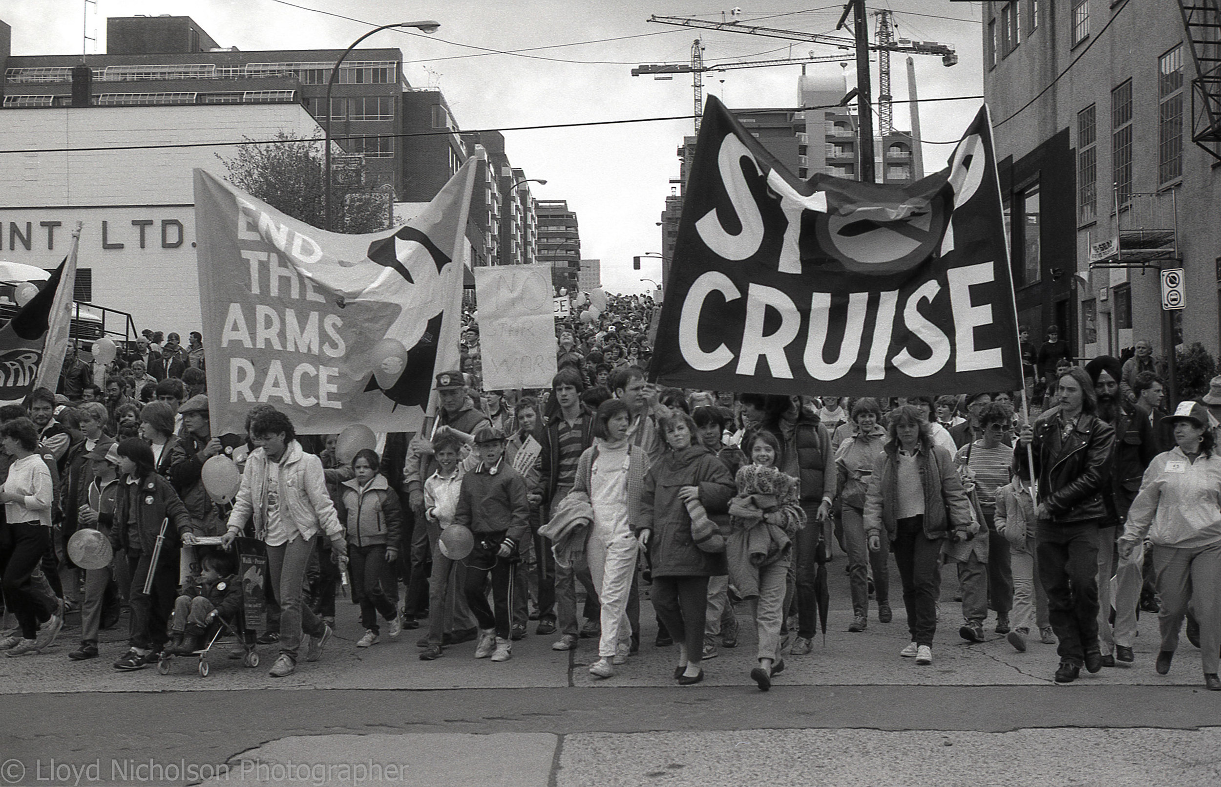 A Peace March 1985