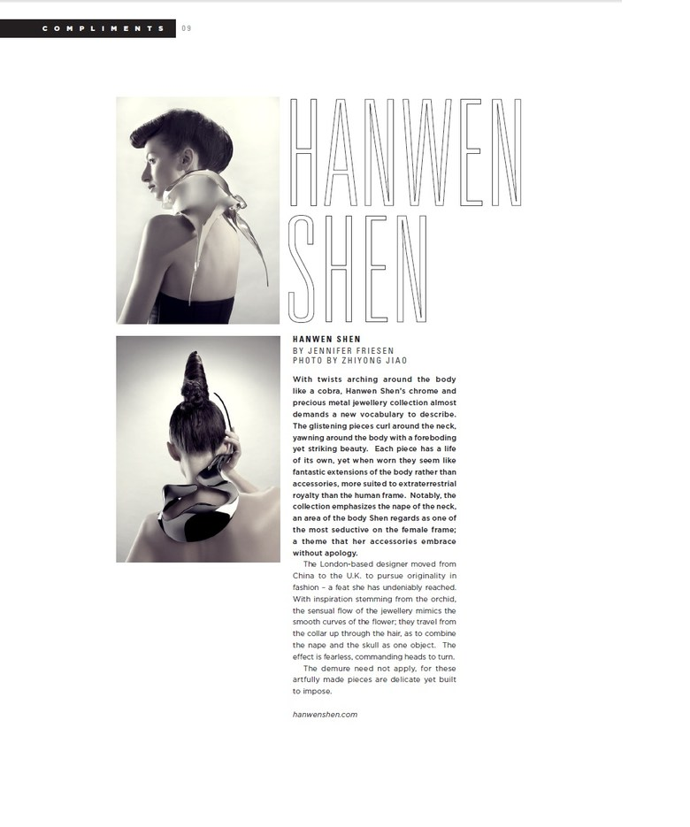 Published in Conglomerate Magazine's F/W 2011 issue.