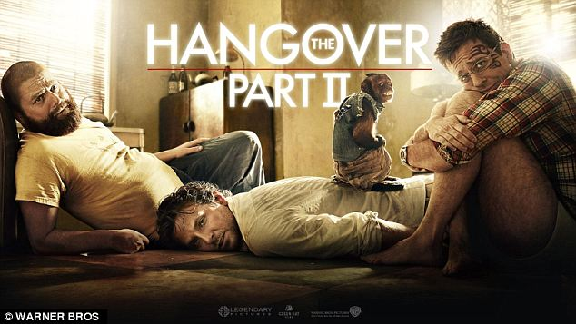 The Hangover movie poster featuring Crystal Monkey.