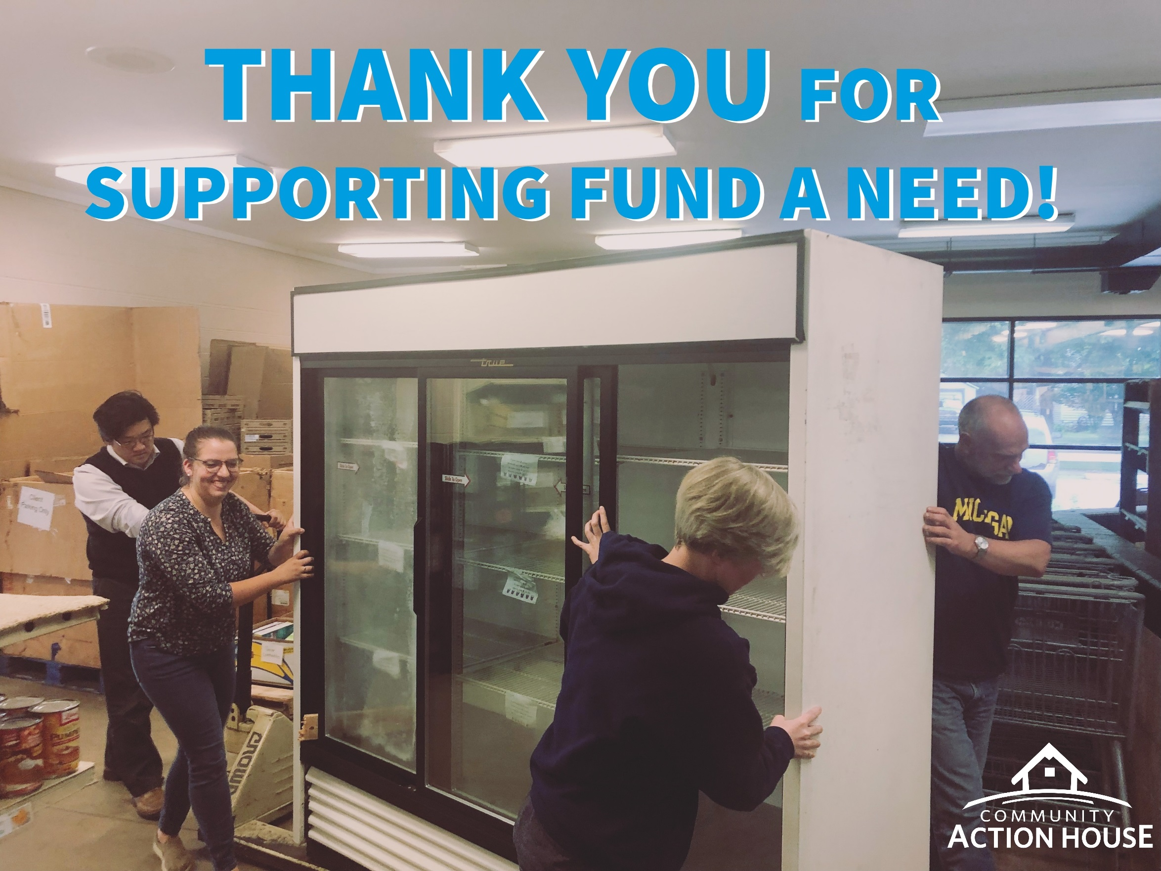 Grocery-style Coolers - Need is Fully Funded!