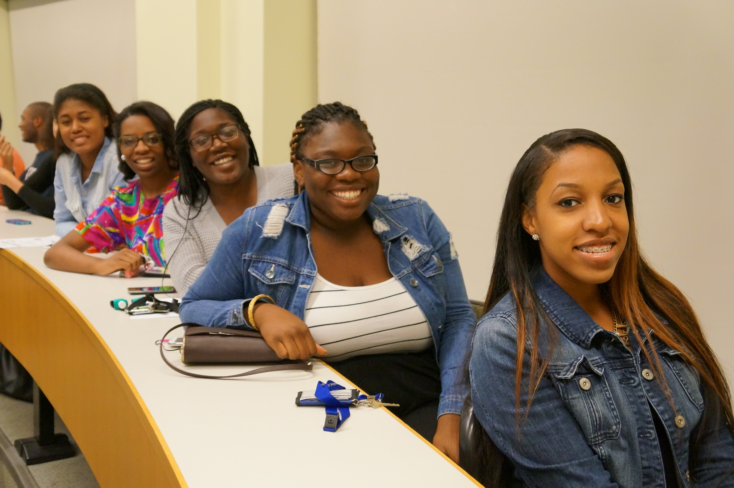 Class of 2018 eager to learn more about BWUA
