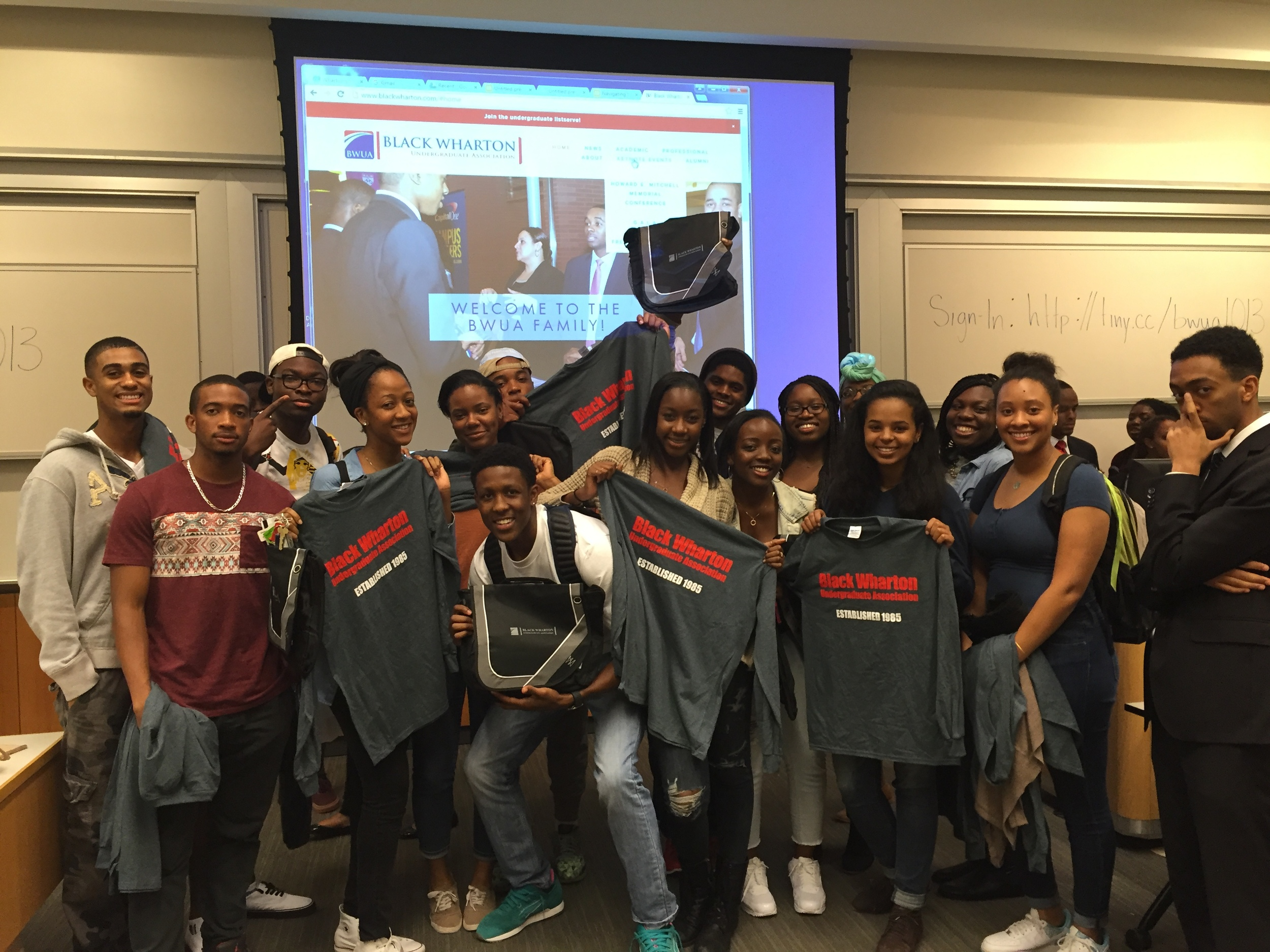 The sophomores pulled off a fantastic win and got to go home with BWUA long-sleeved shirts and laptop bags! Thank you to all attendees and participants for your amazing performance at this month's GBM! Make sure you share all of the insights you gained from BWUA's lesson in Navigating the Penn-pire!