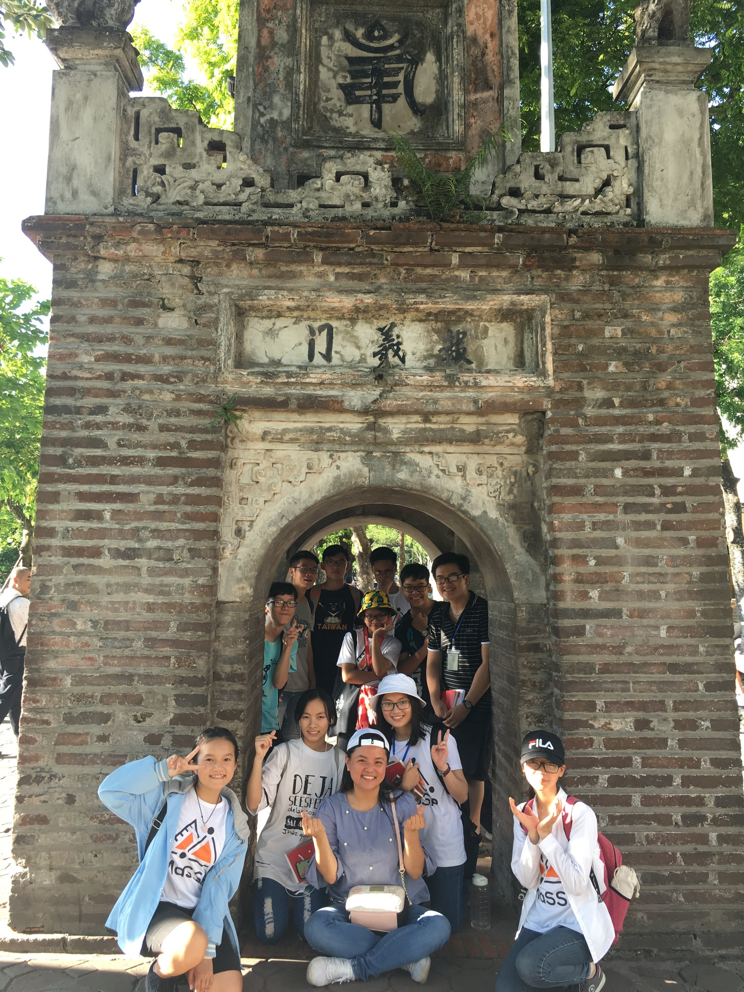 Our first urban observation field trip in Hanoi!