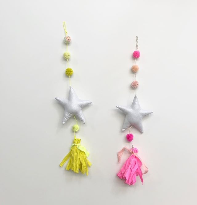 Wish upon a ⭐️ ⠀⠀⠀⠀⠀⠀⠀⠀⠀ .⠀⠀⠀⠀⠀⠀⠀⠀⠀ .⠀⠀⠀⠀⠀⠀⠀⠀⠀ .⠀⠀⠀⠀⠀⠀⠀⠀⠀ .⠀⠀⠀⠀⠀⠀⠀⠀⠀ .⠀⠀⠀⠀⠀⠀⠀⠀⠀ . #hluv #hluvfabrications #wallhanging #wallhangings #buylessbuybetter #nurseryinspo #nurserydecor #neon #pompom #pompon #pompoms #pompons #whimsical #whinsicallifestyle #childrensdecor