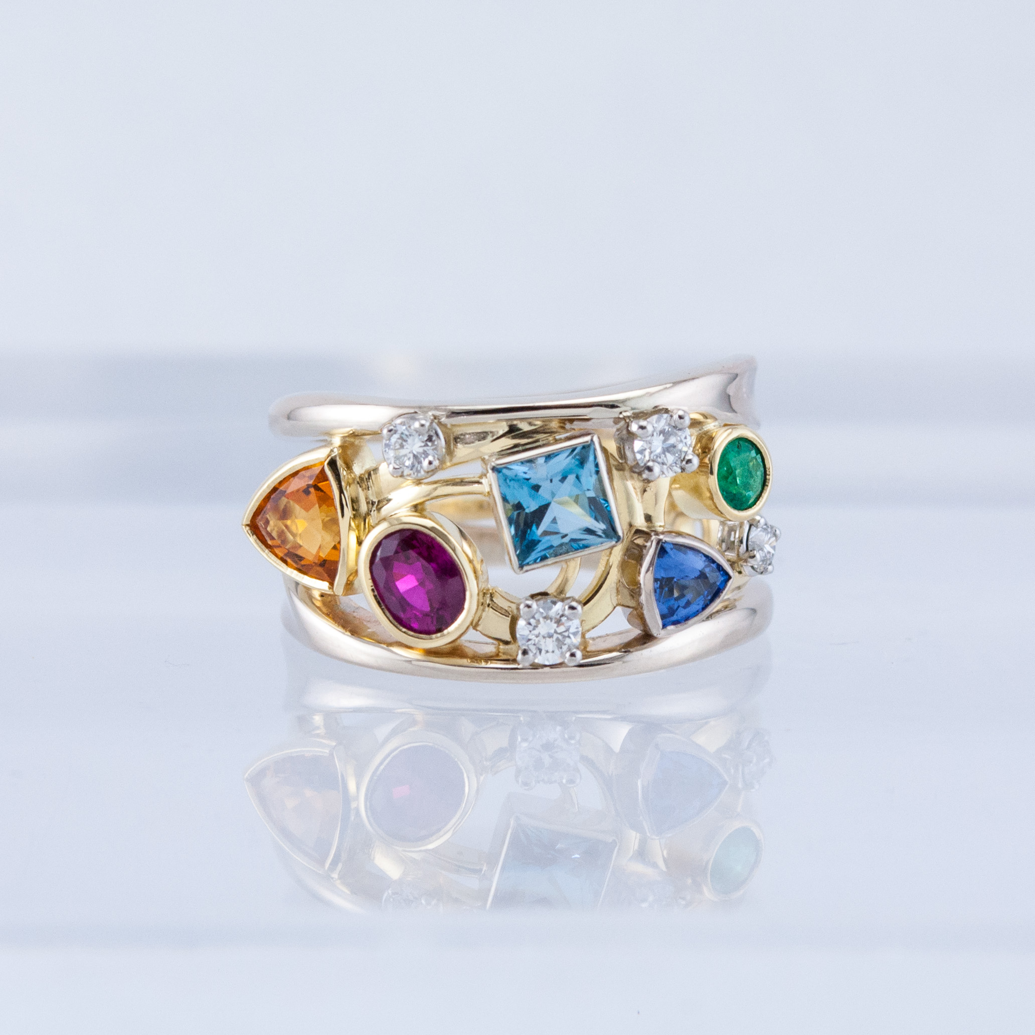Family Constellation Ring