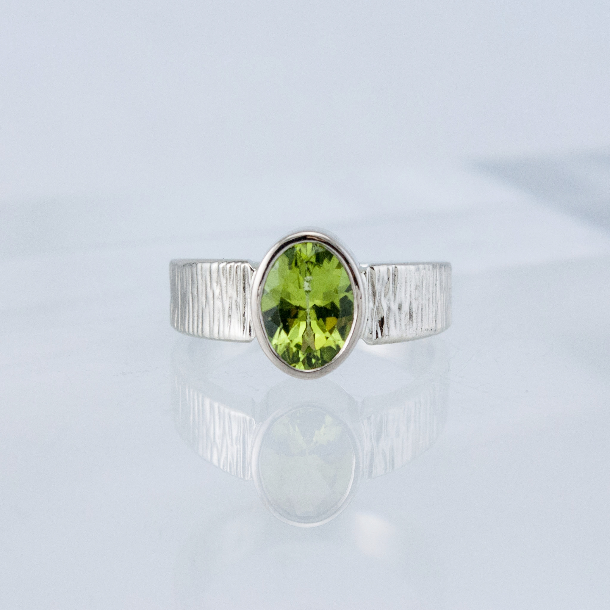 Haymarket Solitaire with Peridot