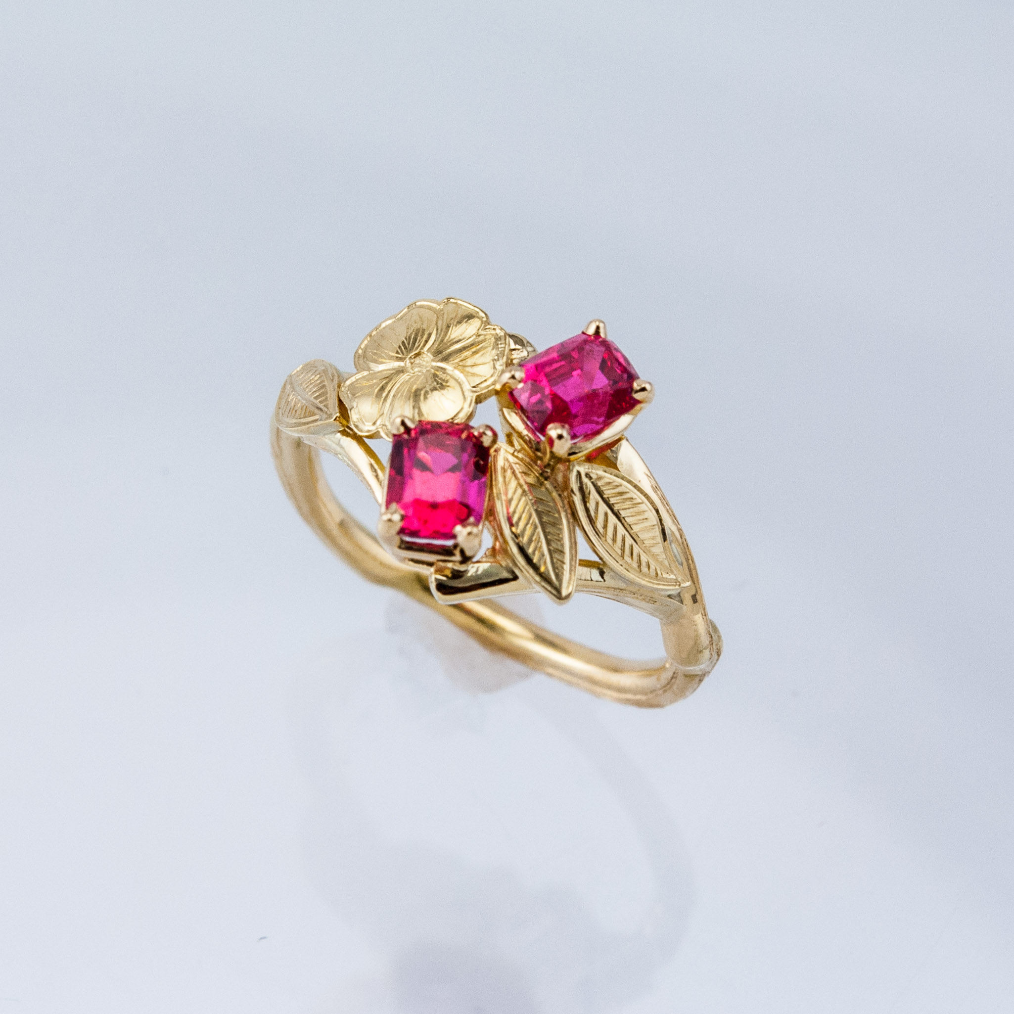 Cherry Twig Ring