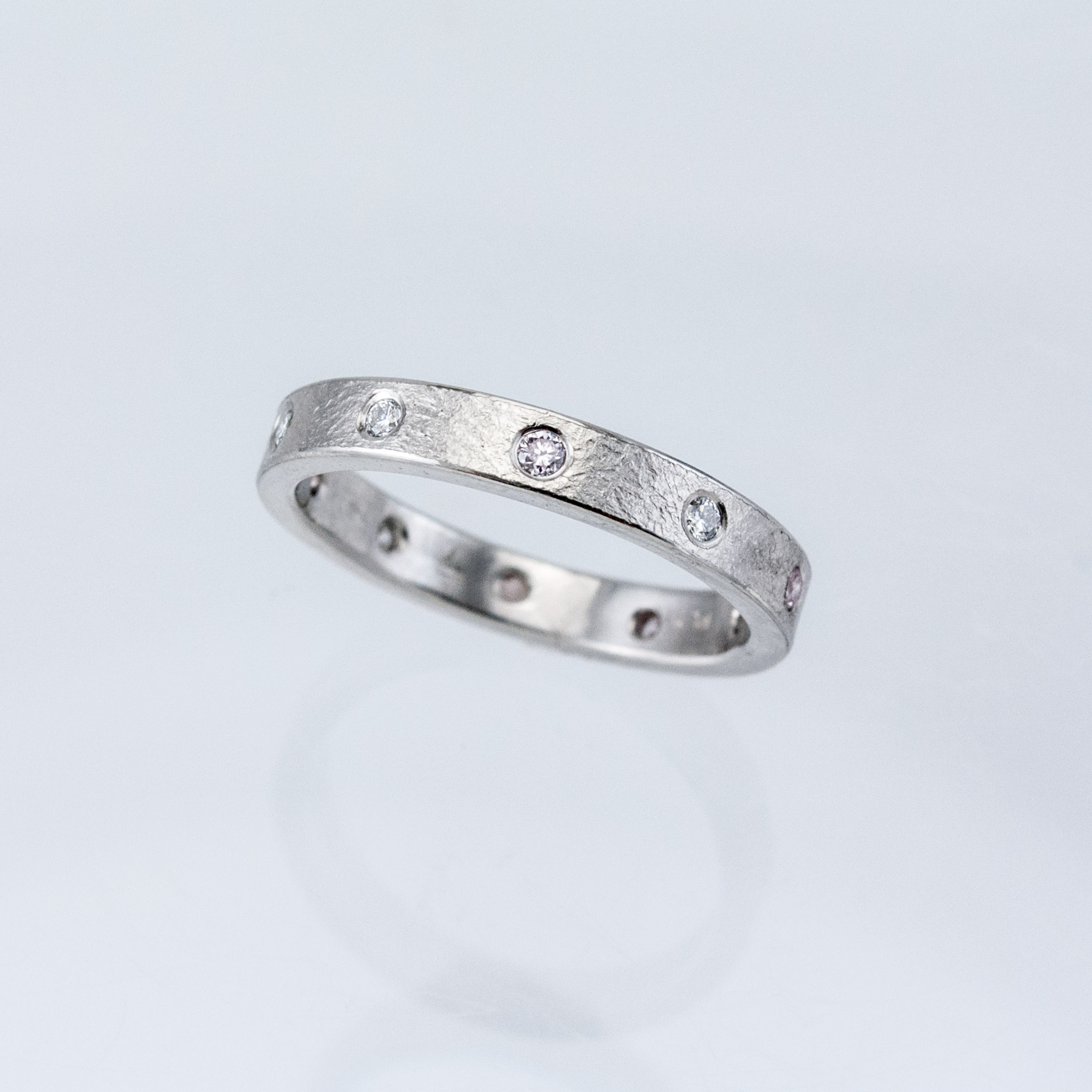 Platinum Desert Eternity Diamond Band