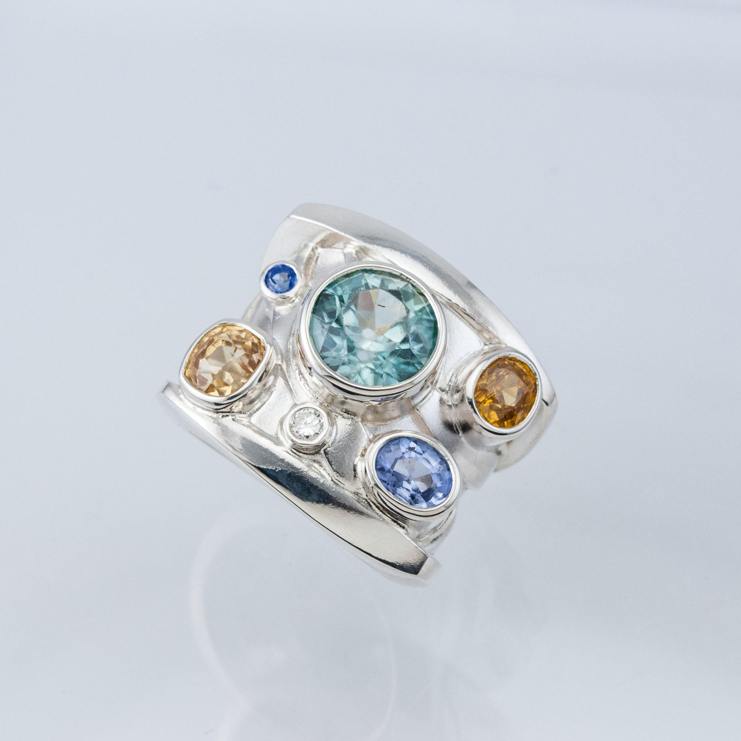Custom Zircon Ring