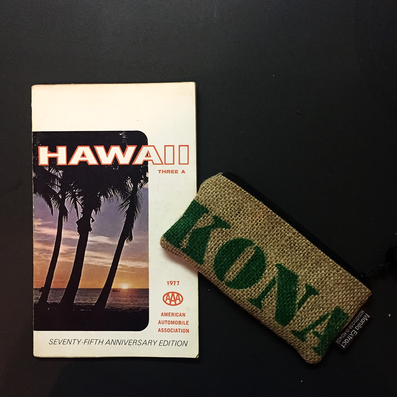 Photo: Vintage 1977 AAA Hawaii Tour Book (Found in parent's basement from my Dad's trip to Hawaii in the 70s)