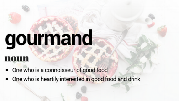 gourmand definition