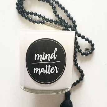 Mind over Matter Soy Candle by atlantic avenew
