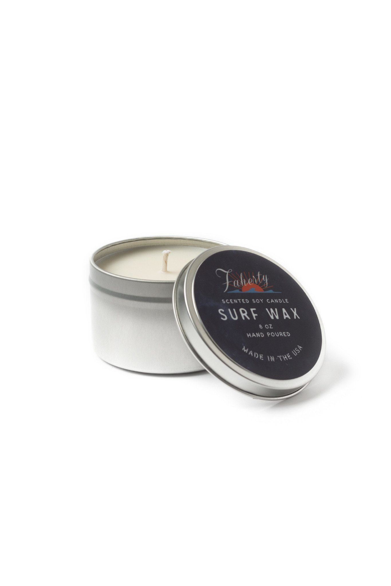 Surf Wax Faherty Soy Candle by atlantic avenew