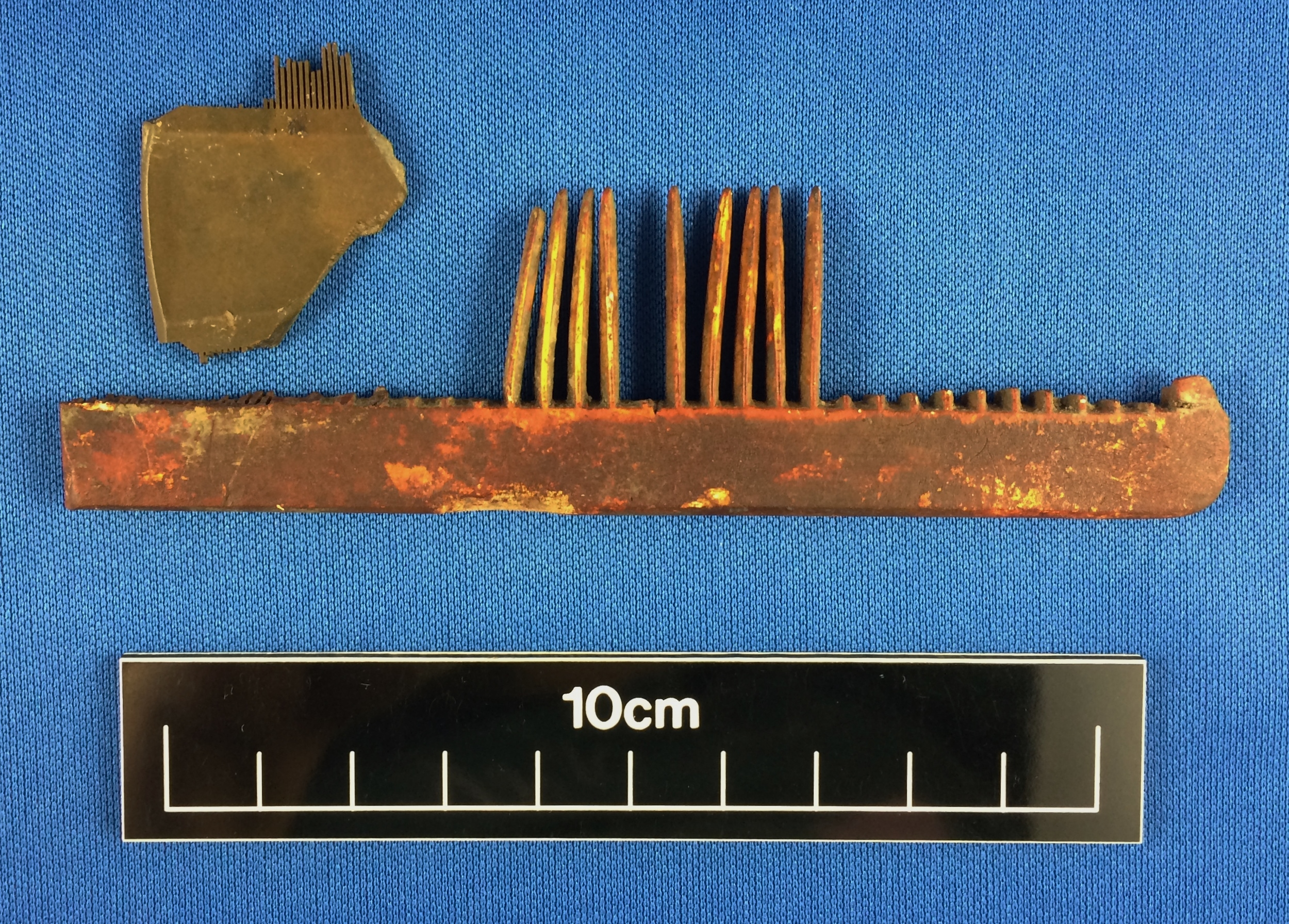 Combs from the Cottage Hospital