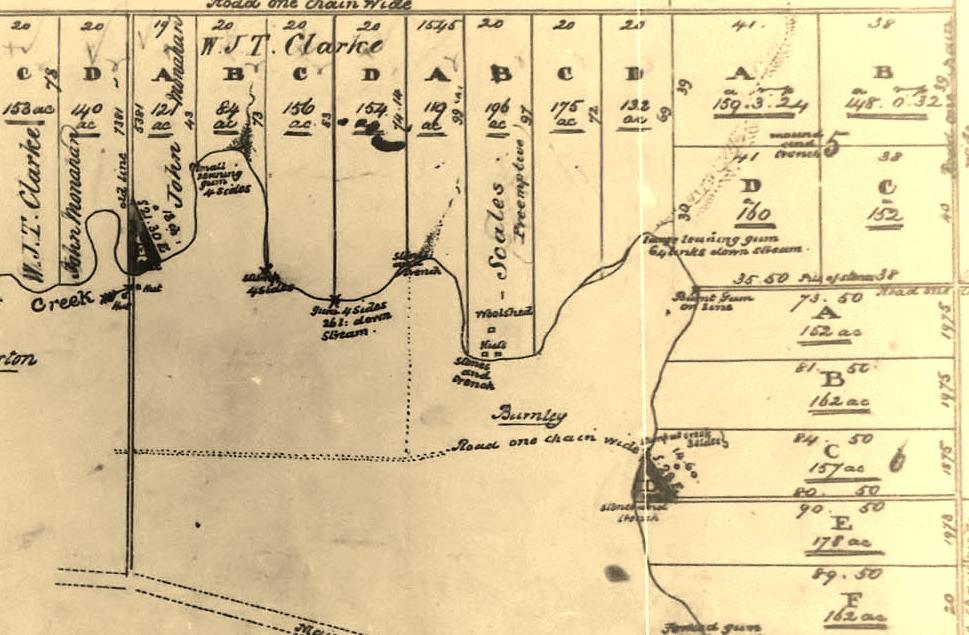 1852 Parish Map
