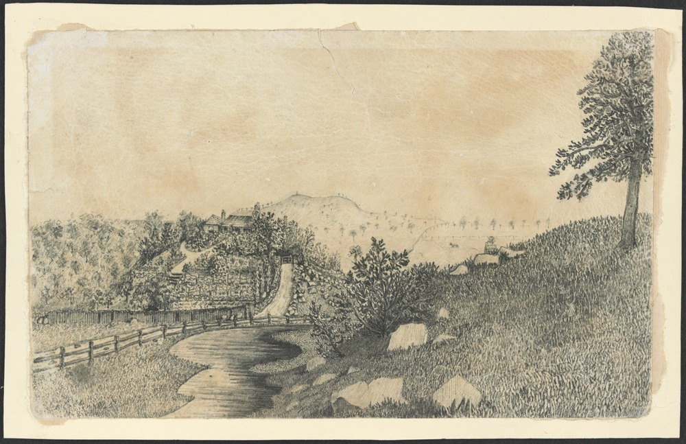 My Emu and Baillie Creek etching