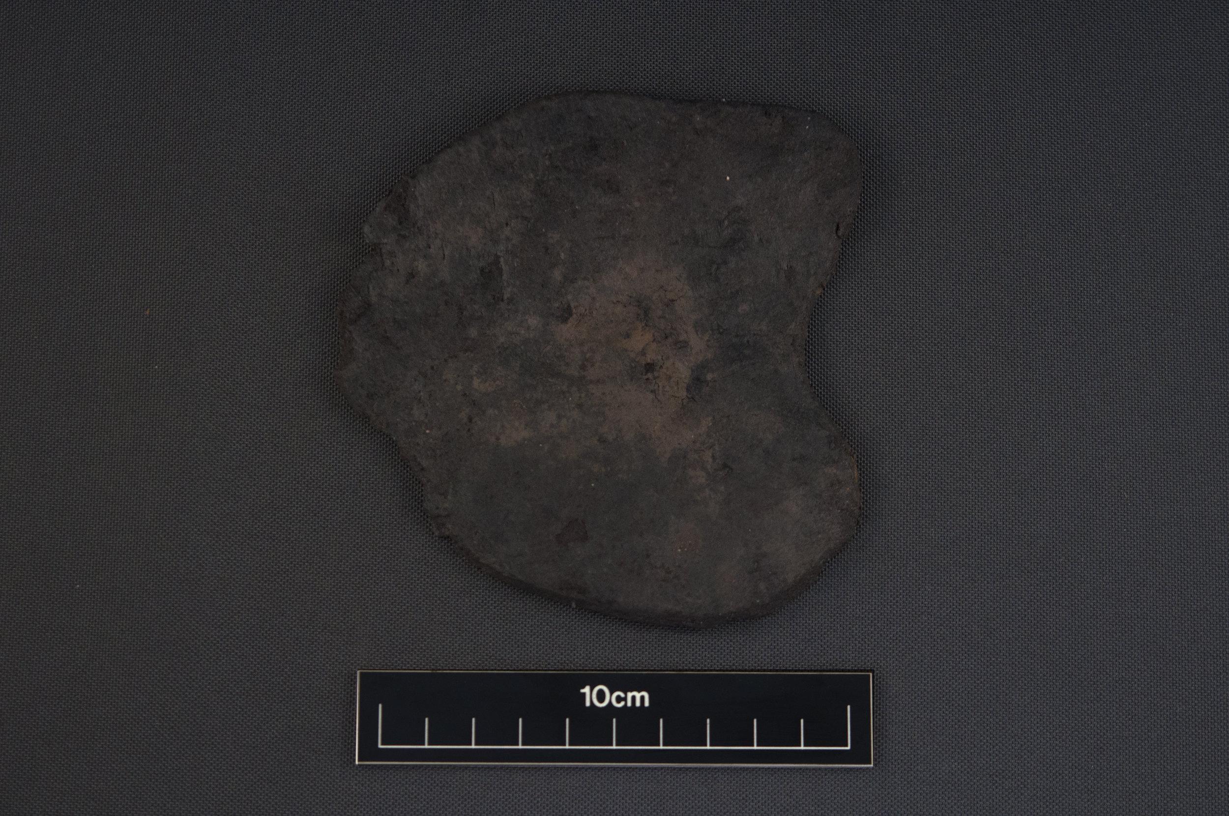 A horse hoof pad