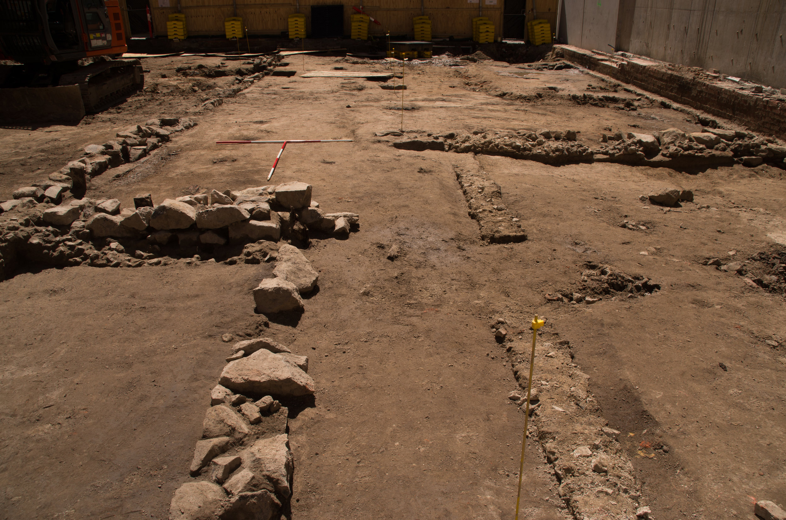 Excavated homestead on Little Lonsdale Street