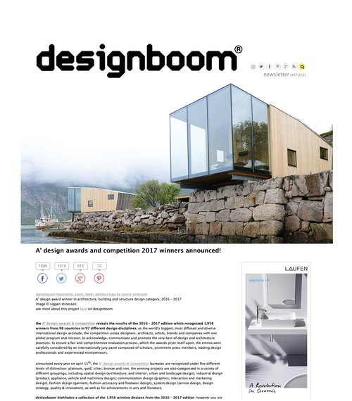 Designboom April 2017