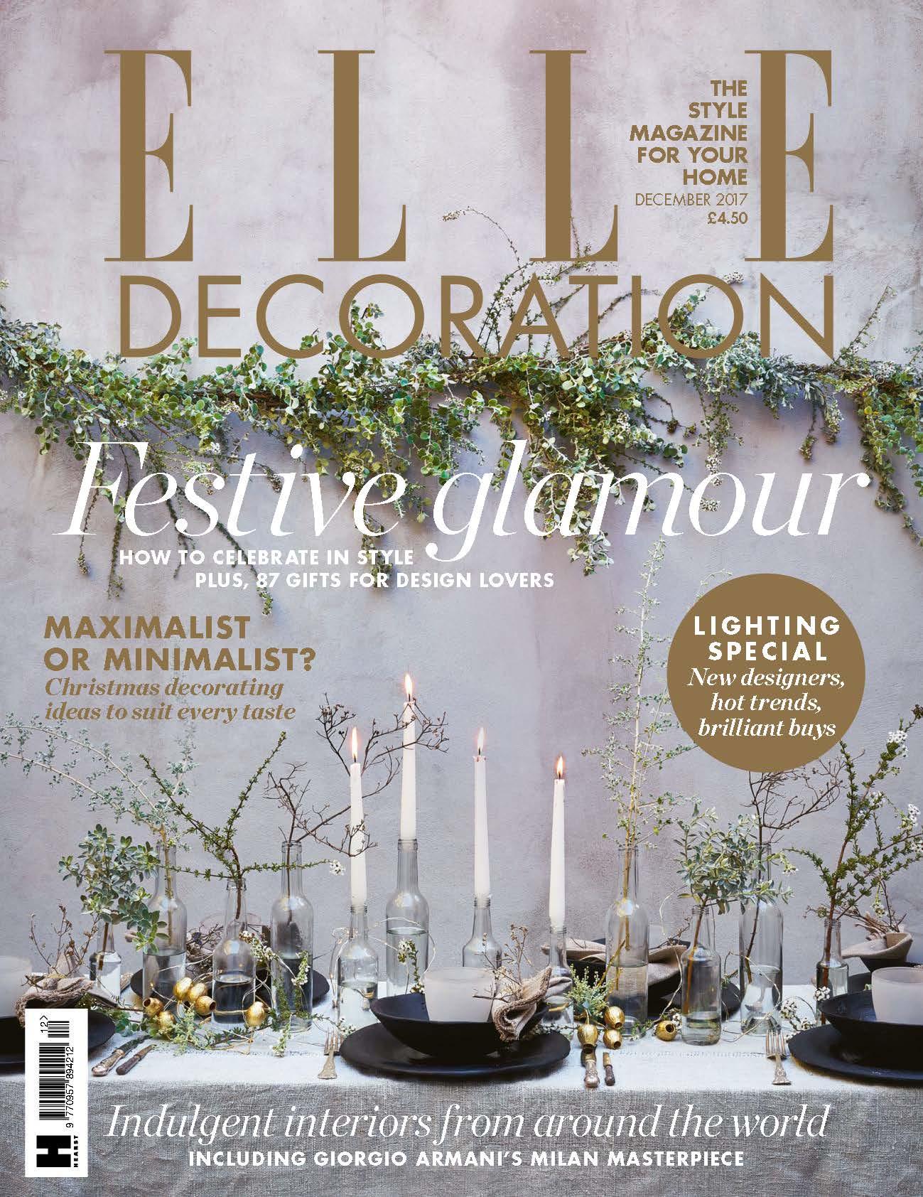 Elle Decor UK December 2017
