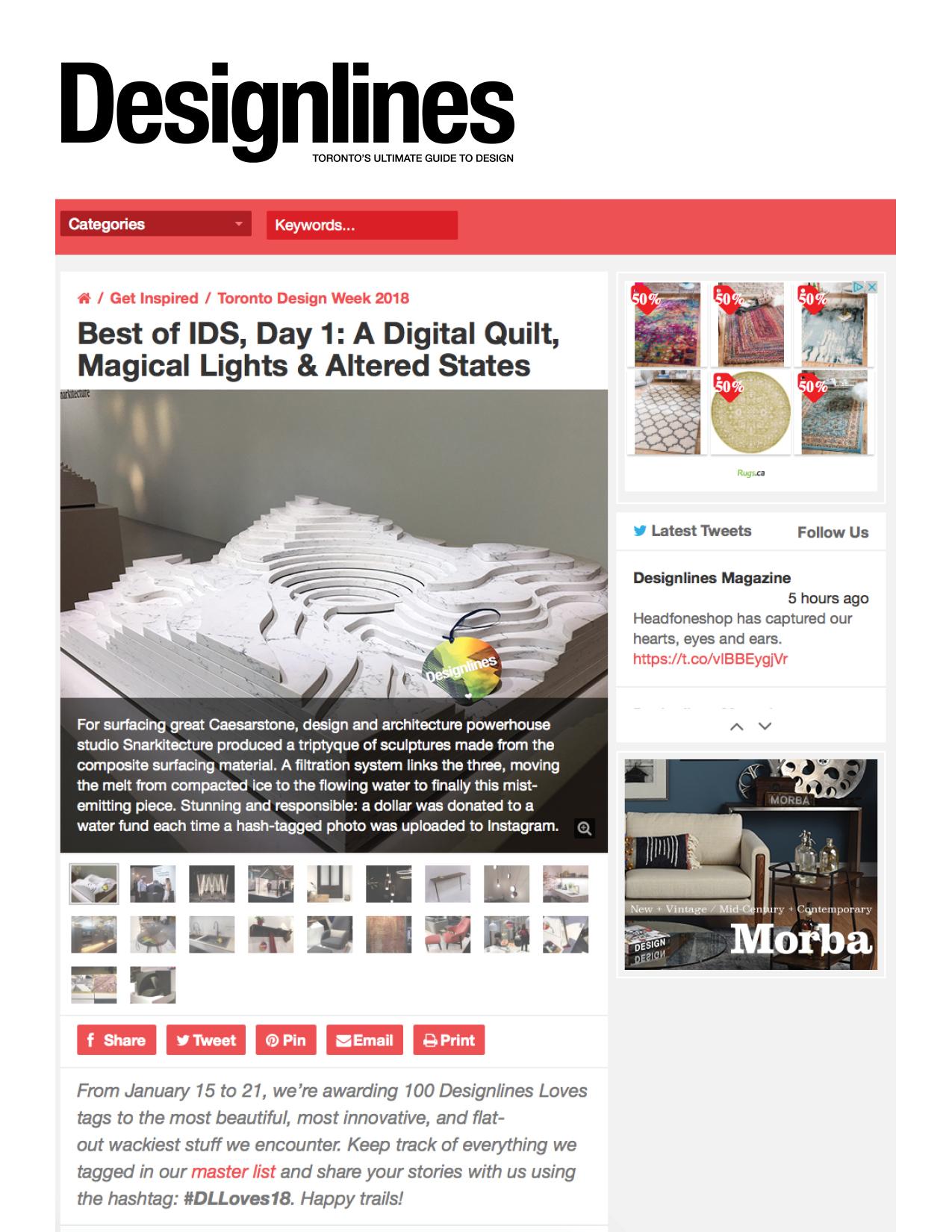 DesignLines January 2018