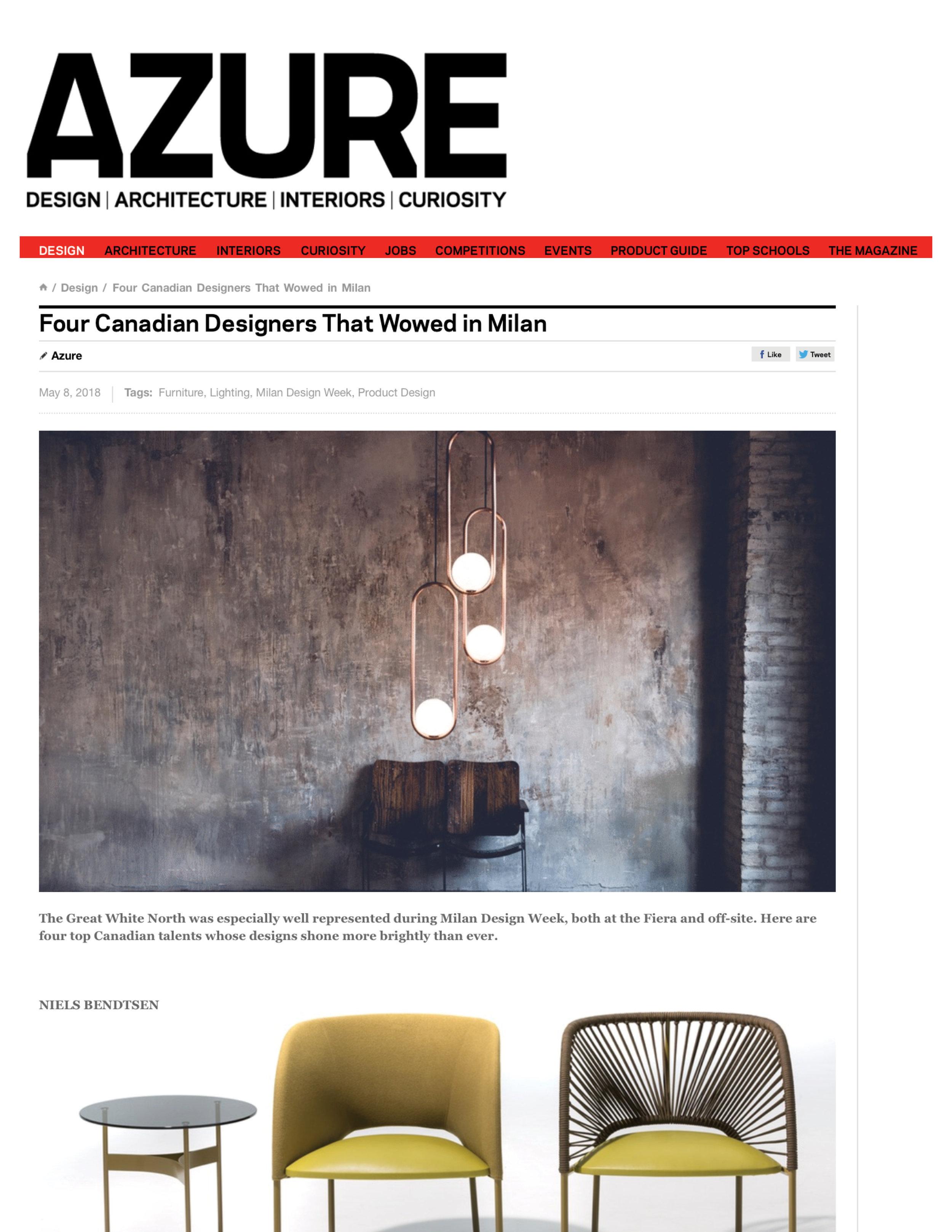 Azure Magazine May 2018