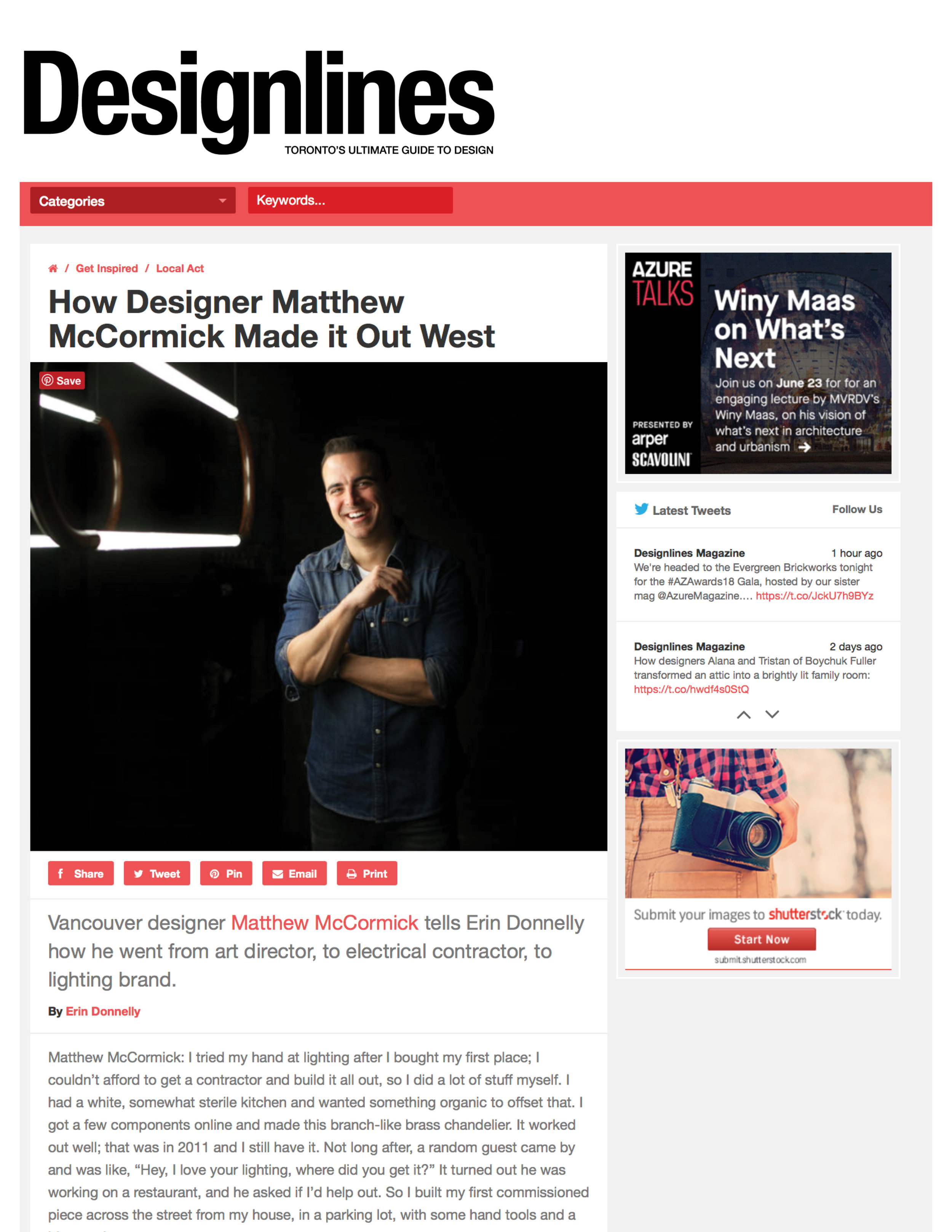 Designlines May 2018