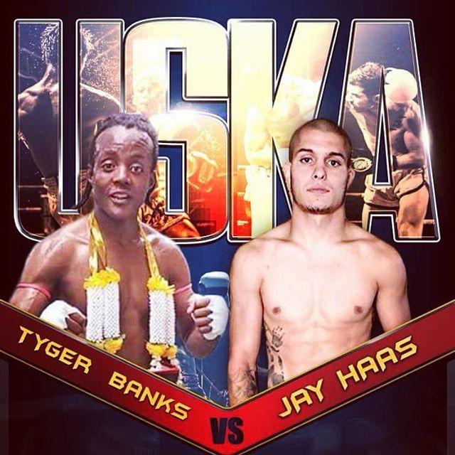 Good luck to @tygerbanks in Pennsylvania this weekend on the big stage. #mma #kickboxing #muaythai #kixksquad #tygerbanks #visionmma #victorythroughsacrifice