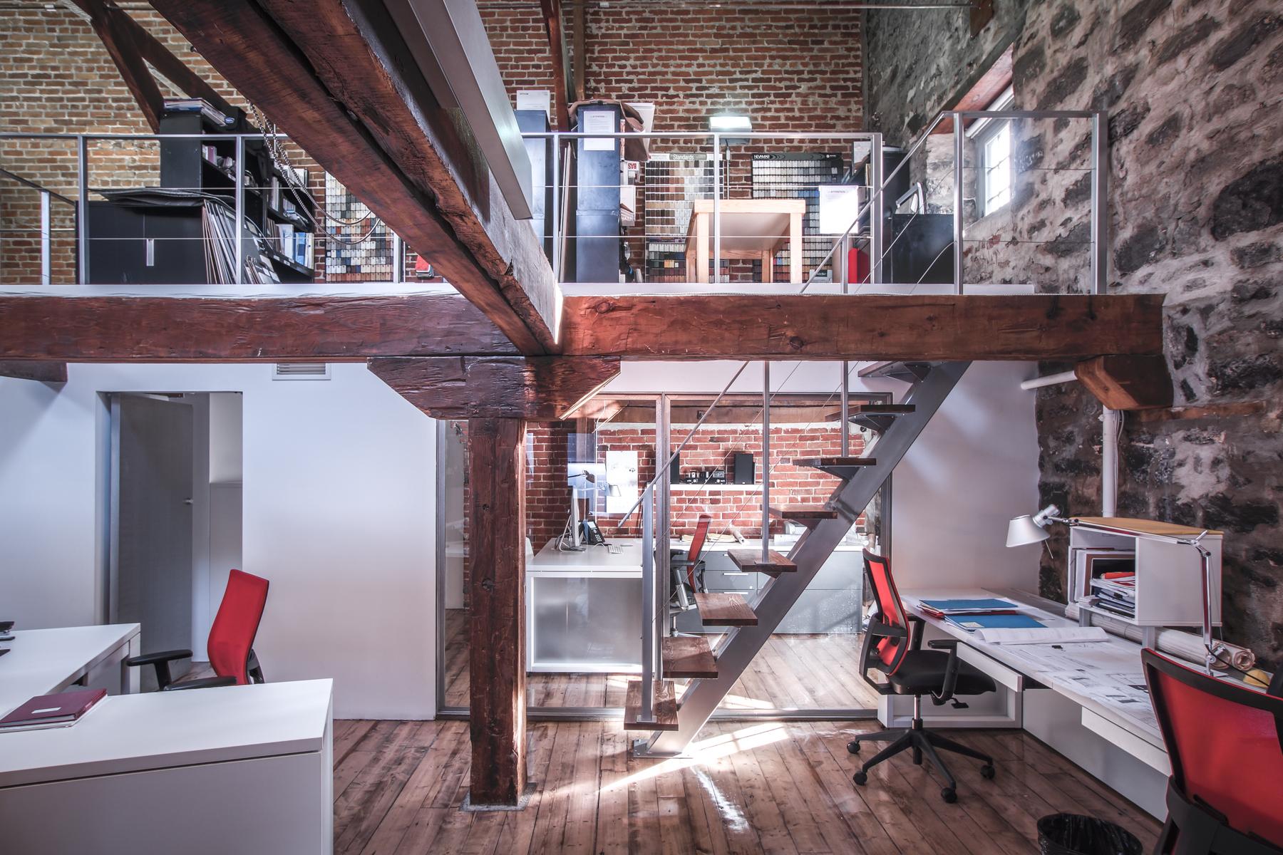 Bureaux Riopel et Associés, architectes
